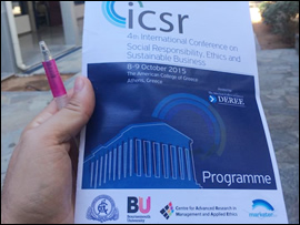 4th International Conference on Social Responsibility, Ethics, and Sustainable Business (Athens, Greece)