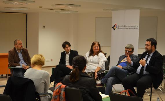 """Dezbaterile Publice de Etica Aplicata 2014/2015: """"Jurnalismul românesc între partizanat politic şi etică profesională"""""""