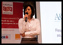 Cristina Horia, MA - Gender Equality and Sustainability Expert
