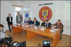 """Corruption Prevention and Integrity in the Public Sector"" Workshop, Giurgiu, Romania"